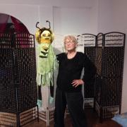 Marionnette cigale 1